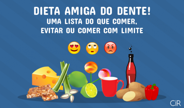 Dieta amiga do dente!
